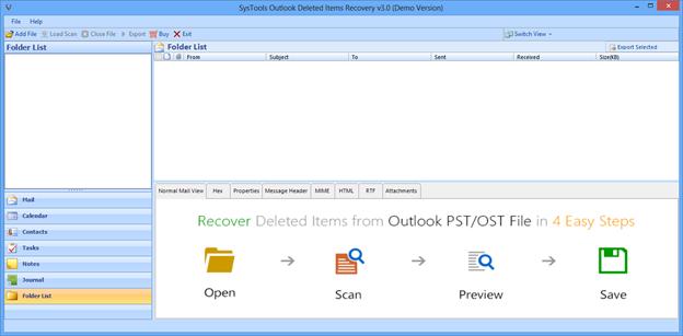 Лучший способ восстановить электронное письмо, удаленное из папки удаленных элементов