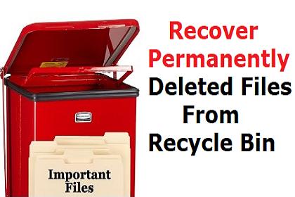 Как я могу восстановить навсегда удаленные файлы из корзины?  – Просто