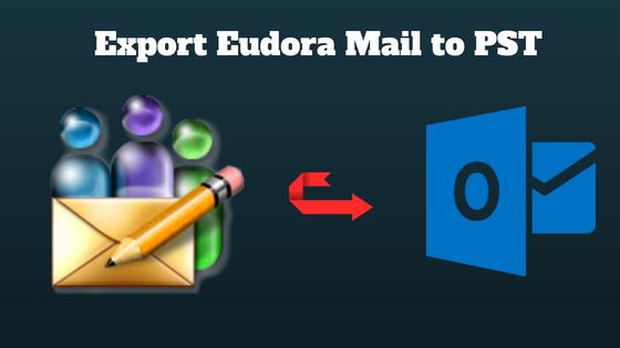 Экспорт Eudora в PST и импорт Eudora Mail в Outlook с вложениями