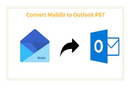 Преобразование Maildir в формат файла Outlook PST в ОС Windows