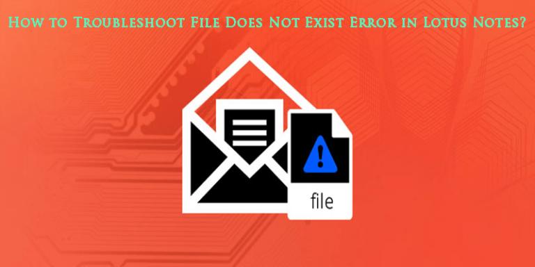 """Как устранить ошибку """"Файл исключений IBM Notes не существует"""""""