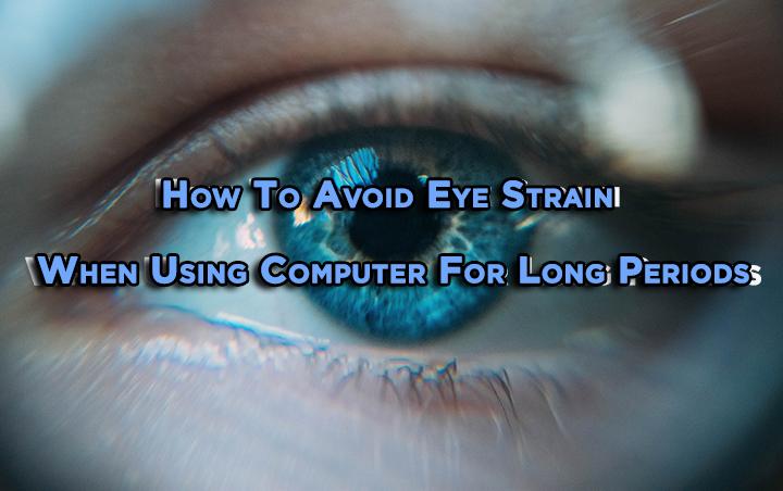 Как избежать напряжения глаз при длительном использовании компьютера