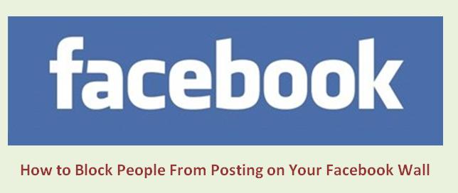 Как запретить людям размещать сообщения на вашей стене в Facebook