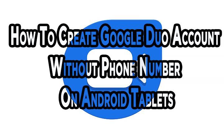 Как создать учетную запись Google Duo без номера телефона