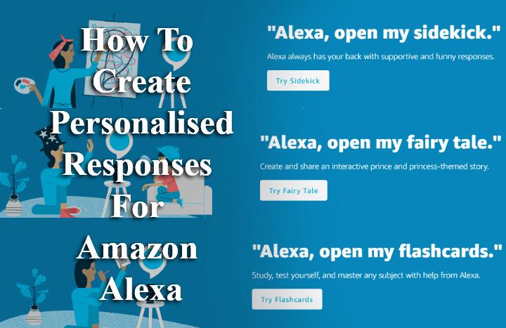 Как создавать персонализированные ответы на Amazon Alexa