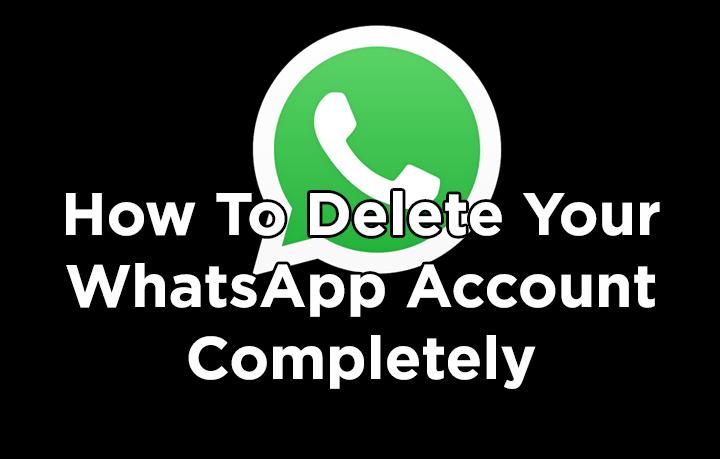 Как полностью удалить свою учетную запись WhatsApp