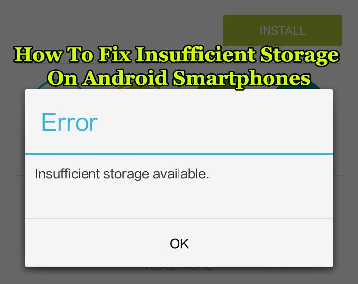 Как исправить недостаток памяти на смартфонах Android