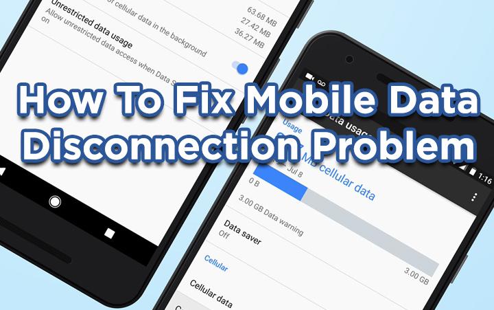 Как исправить проблему с отключением мобильных данных на устройствах Android