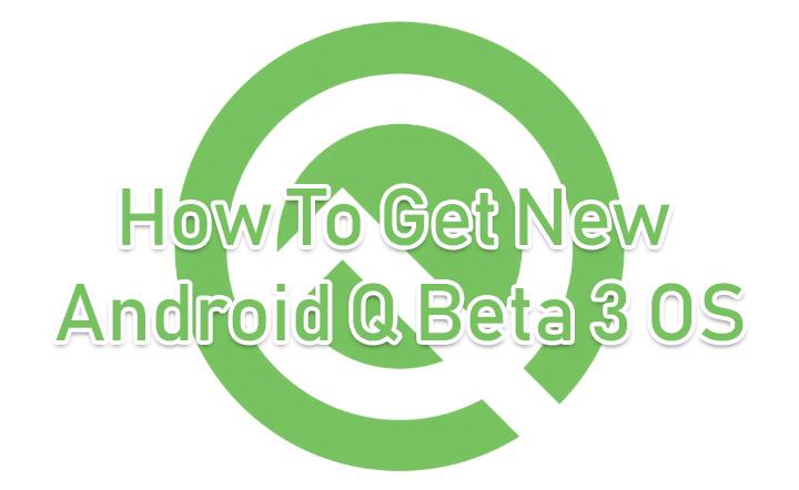 Как установить новую операционную систему Android Q на свой смартфон