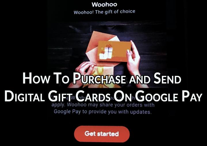 Как покупать и отправлять цифровые подарочные карты в Google Pay