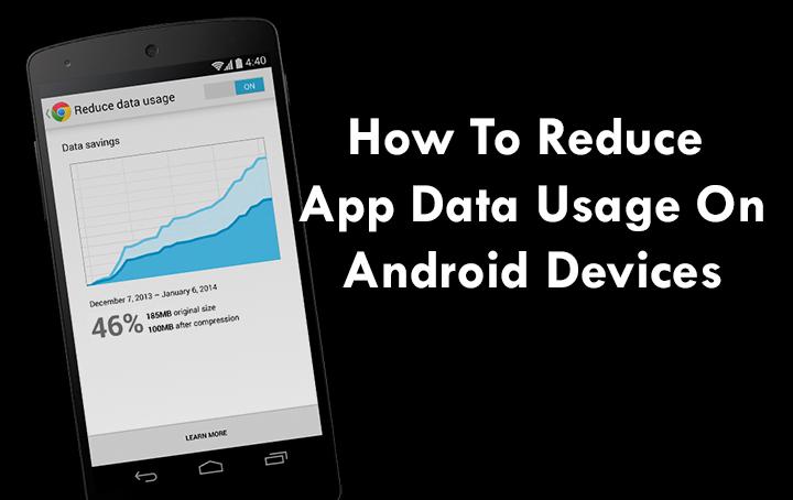 Как уменьшить использование данных приложений на устройствах Android