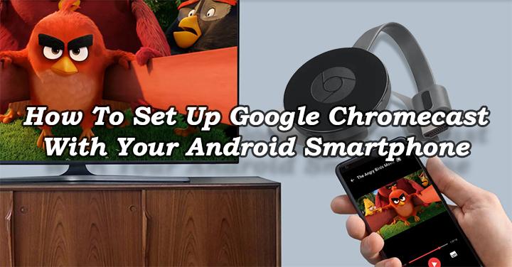 Как настроить Google Chromecast на смартфоне Android