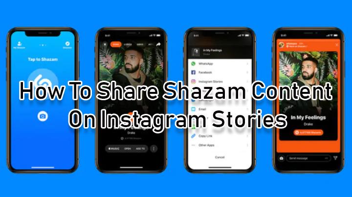 Как поделиться контентом Shazam в историях Instagram на iOS