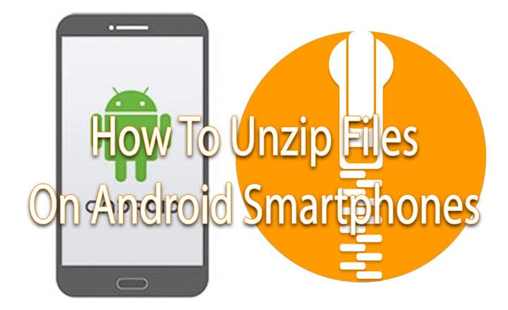 Как распаковать файлы на вашем смартфоне или планшете Android