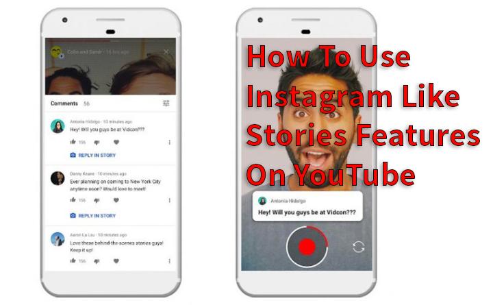 Как использовать функцию Instagram Like Stories на YouTube