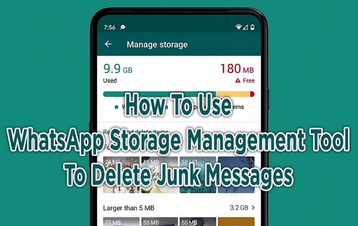 Как использовать инструмент управления хранилищем WhatsApp