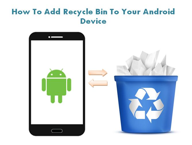 Как добавить корзину на Android-устройство