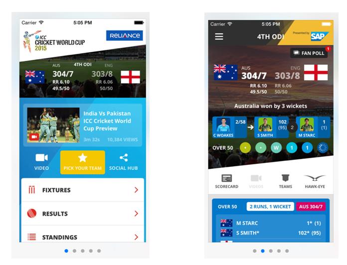 Как смотреть чемпионат мира ICC 2015 в прямом эфире на своем смартфоне