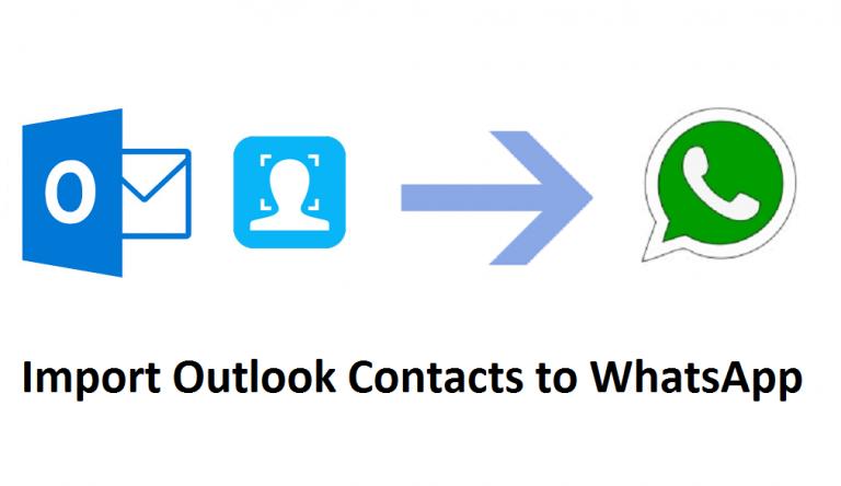Импортируйте контакты Outlook в WhatsApp, используя простую технику