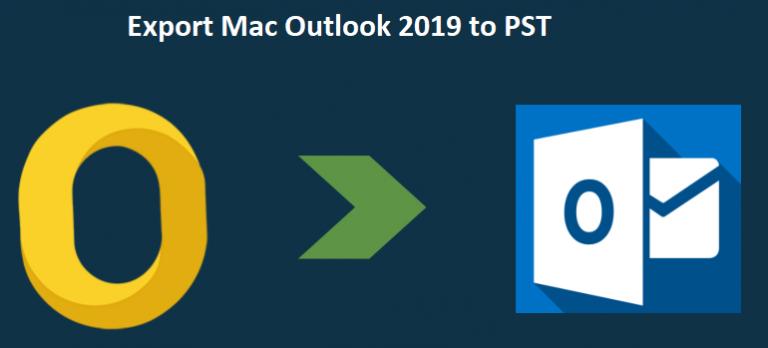 Как экспортировать Mac Outlook 2019 в PST