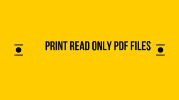 Лучшая техника 2019 года для печати PDF-файлов только для чтения или заблокированных PDF-файлов