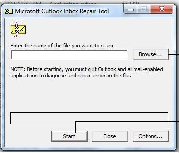 Почему инструмент восстановления папки входящих сообщений Microsoft Outlook продолжает появляться