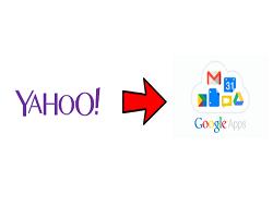 Переход с Yahoo Small Business на Google Apps