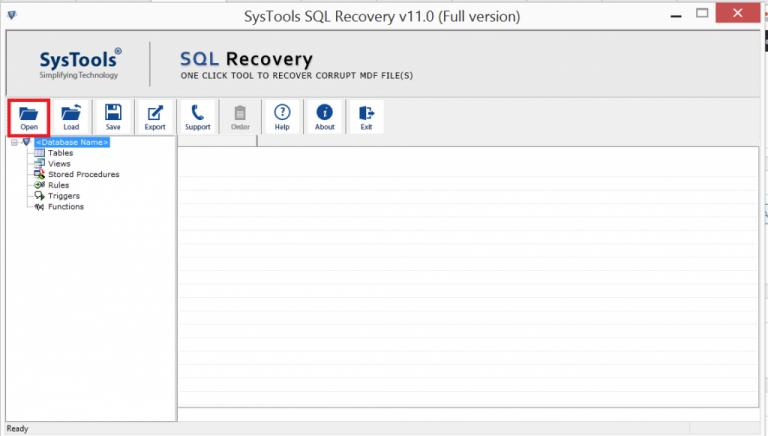 Восстановить данные таблицы и схему из поврежденной базы данных SQL