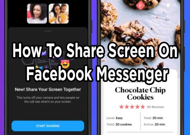 Как поделиться экраном во время видеозвонков в Facebook Messenger