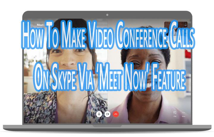 Как совершать звонки по видеоконференции в Skype с помощью функции «Встреча»