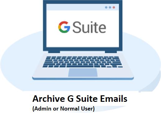 Архивировать электронные письма G Suite из почтового ящика пользователя [Guide for Admin & Normal Users]