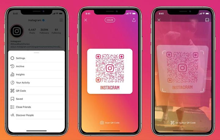Как создать QR-код для вашего профиля в Instagram