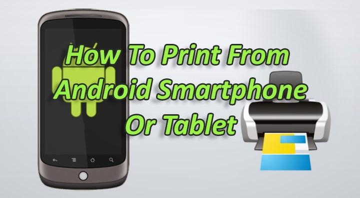 Как печатать со смартфона или планшета Android без Wi-Fi-принтера