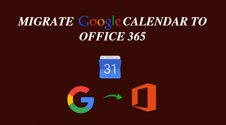 Как перенести календарь Google Apps в Office 365 Outlook