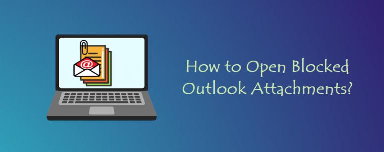 Открытие заблокированных вложений Outlook: быстрый способ