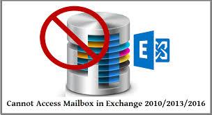 Не удается получить доступ к почтовому ящику в Exchange – Устранение проблемы с почтовым ящиком Exchange EDB