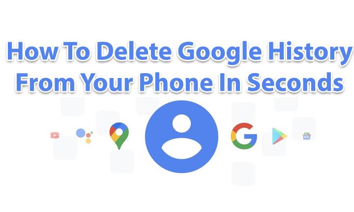 Как удалить историю Google со своего телефона за секунды