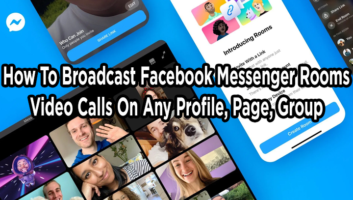 Как транслировать видеозвонки через комнаты обмена сообщениями Facebook