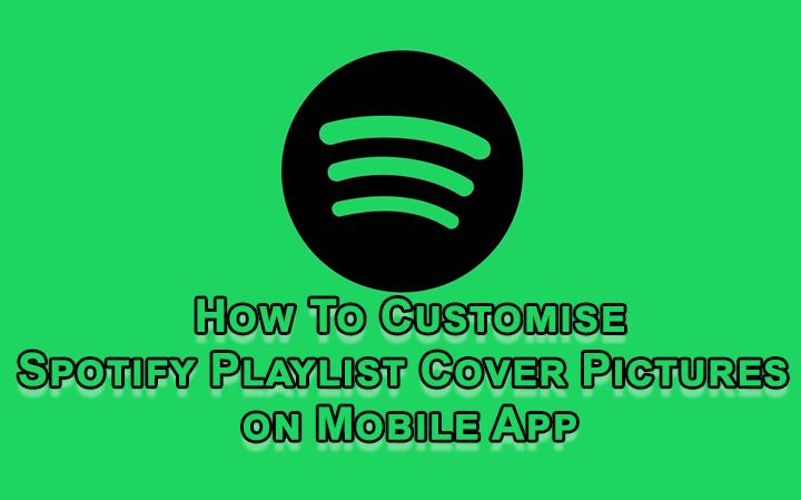Как настроить обложку списка воспроизведения Spotify в мобильном приложении
