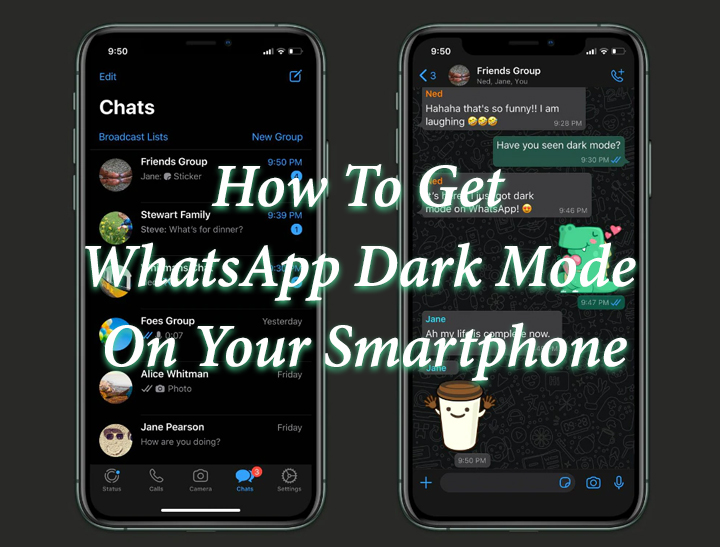 Как установить темный режим WhatsApp на свой смартфон