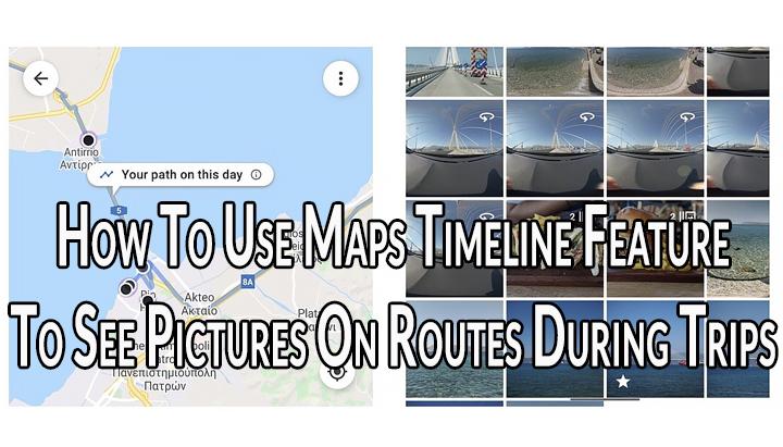 Как использовать функцию временной шкалы карт в Google Фото