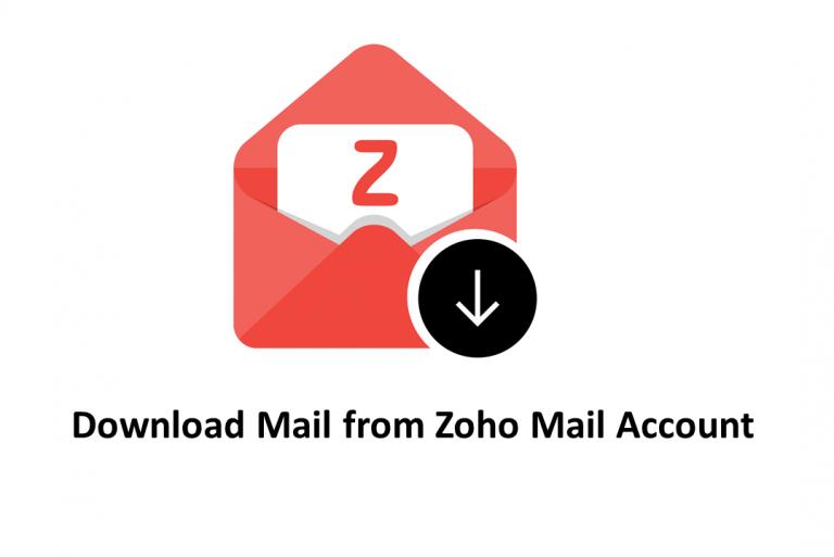 Как загрузить почту из Zoho Mail на компьютер / жесткий диск