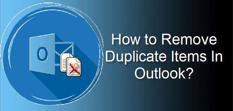 Как быстро удалить повторяющиеся элементы в Outlook?