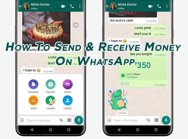 Как отправлять и получать деньги в WhatsApp