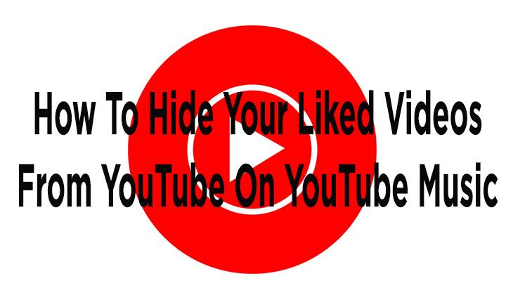Как скрыть понравившиеся видео с YouTube на YouTube Music