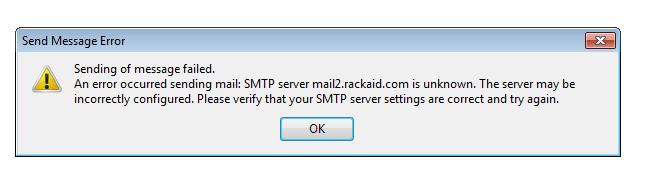 Outlook не может подключиться к серверу исходящей электронной почты – решение ошибки