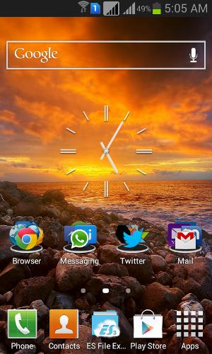 Ускорение пользовательского интерфейса Samsung Galaxy Grand TouchWiz