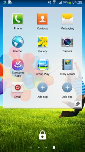 Как включить виджеты экрана блокировки на TouchWiz
