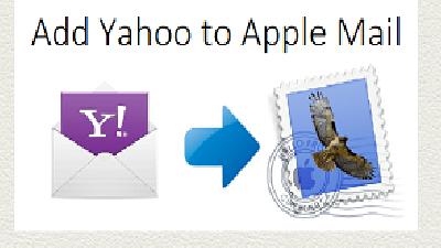 Добавить Yahoo в учетную запись Apple Mail
