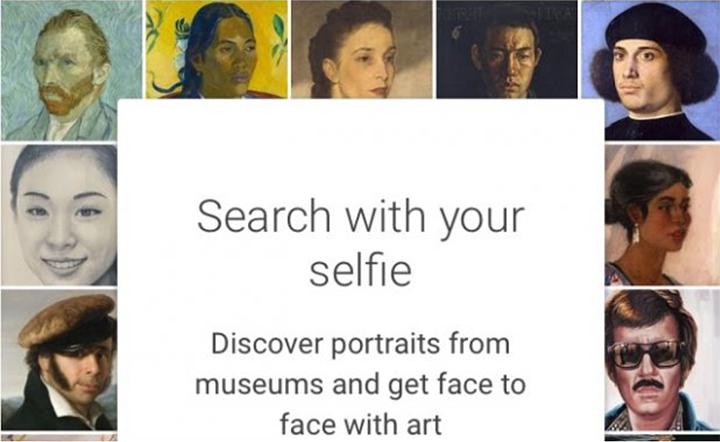 Как использовать функцию художественного селфи в приложении Google Arts & Culture